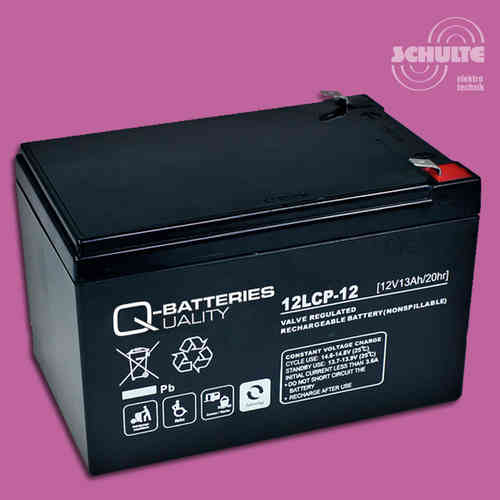 Q-Batteries 12LCP-12 | 12V 13Ah