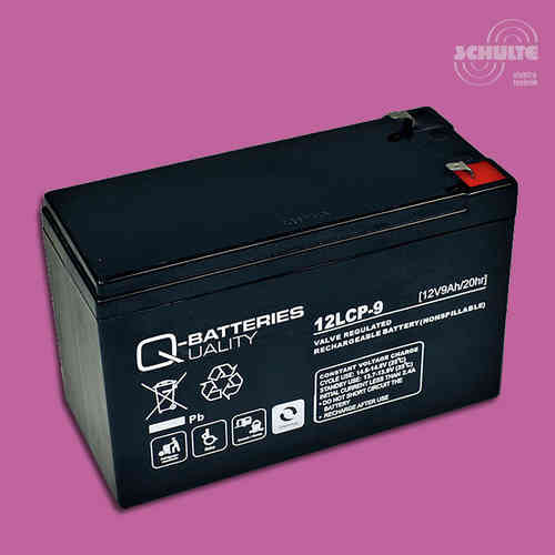 Q-Batteries 12LCP-9 | 12V 9Ah