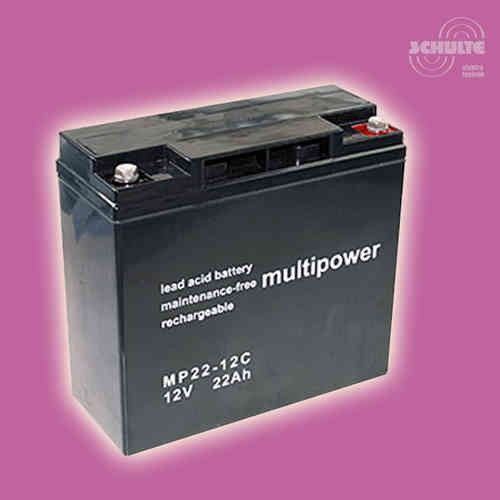 Multipower MP22-12C | 12V 22Ah