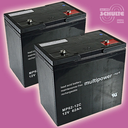 2 x Multipower MP62-12C