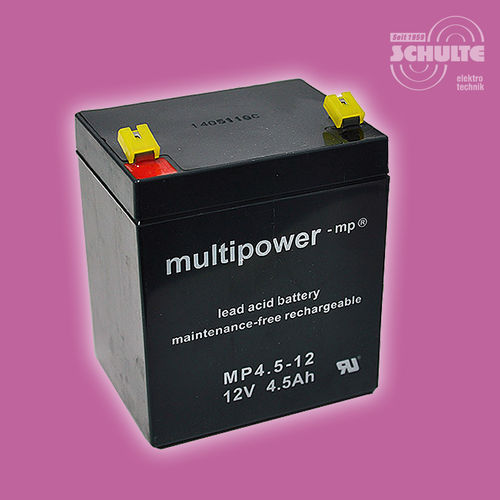 Multipower MP4,5-12 | 12V 4,5Ah