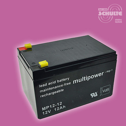 Multipower MP12-12 (VdS) | 12V 12Ah