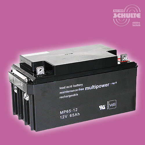 Multipower MP65-12 (VdS) | 12V 65Ah